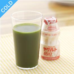 ごくごく飲める大麦若葉 栄養アップ+ヤクルト