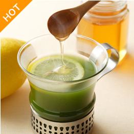 青汁+はちみつ+レモン