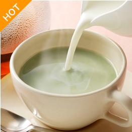 青汁+ミルクティー