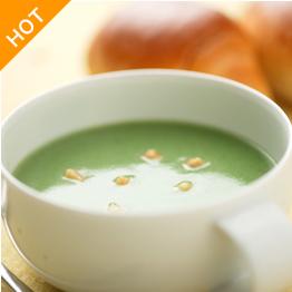 青汁+スープ